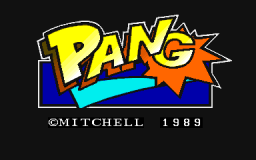 Pang   © Capcom 1989   (ARC)    1/5