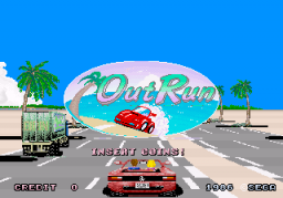 Out Run (ARC)   © Sega 1986    1/4