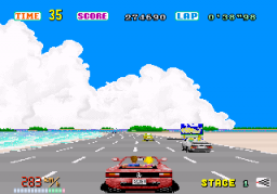 Out Run (ARC)   © Sega 1986    2/4