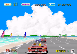 Out Run (ARC)   © Sega 1986    3/4