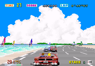 Out Run   © Sega 1986   (ARC)    3/4