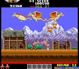 Rygar: The Legendary Warrior (ARC)  © Tecmo 1986   5/5