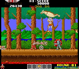 Rygar: The Legendary Warrior (ARC)  © Tecmo 1986   3/5