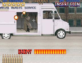 Lethal Enforcers (ARC)  © Konami 1992   4/5