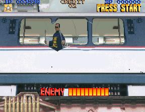Lethal Enforcers (ARC)  © Konami 1992   5/5