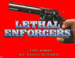 Lethal Enforcers (ARC)  © Konami 1992   1/5