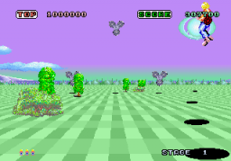 Space Harrier (ARC)   © Sega 1985    2/7
