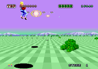 Space Harrier (ARC)   © Sega 1985    4/7