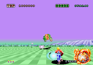 Space Harrier (ARC)   © Sega 1985    5/7
