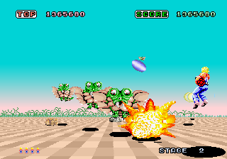 Space Harrier (ARC)   © Sega 1985    6/7