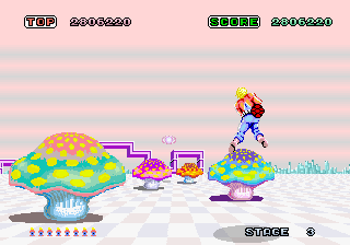 Space Harrier (ARC)   © Sega 1985    7/7