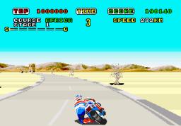 Super Hang-On (ARC)  © Sega 1987   3/3