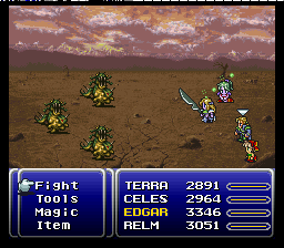 Final Fantasy VI (SNES)   © Square 1994    3/5