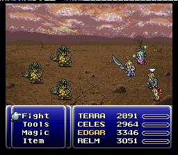 Final Fantasy VI (SNES)  © Square 1994   3/5