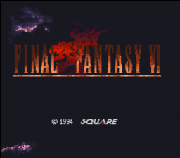 Final Fantasy VI (SNES)   © Square 1994    1/5