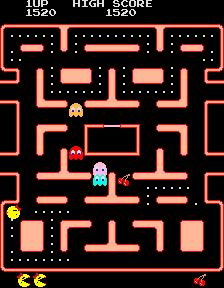 Ms. Pac-Man (ARC)  © Bally Midway 1981   3/4