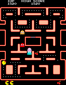 Ms. Pac-Man  © Bally Midway 1981  (ARC)   3/4