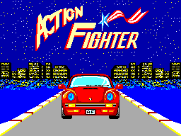 Action Fighter (SMS)   © Sega 1986    1/6