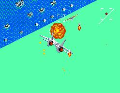 After Burner (SMS)  © Sega 1987   5/9