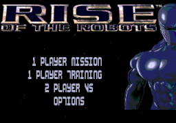 Rise Of The Robots (SMD)   © Acclaim 1994    1/3