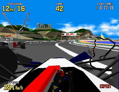 Virtua Racing  © Sega 1992  (ARC)   2/6