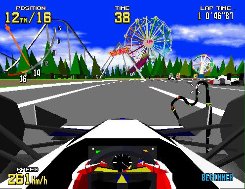 Virtua Racing  © Sega 1992  (ARC)   3/6