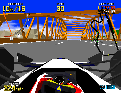 Virtua Racing  © Sega 1992  (ARC)   6/6
