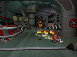 Crash Bandicoot: The Wrath Of Cortex (PS2)   © Konami 2001    2/4