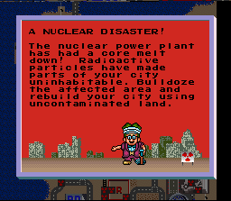 SimCity (SNES)  © Nintendo 1991   2/3