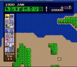 SimCity (SNES)  © Nintendo 1991   3/3