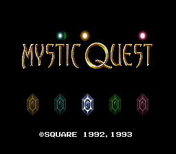Mystic Quest Legend (SNES)   © Square 1992    1/3