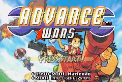 Advance Wars (GBA)  © Nintendo 2001   1/6