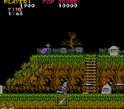 Ghosts 'N Goblins (ARC)   © Capcom 1985    2/8