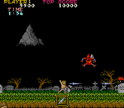Ghosts 'N Goblins (ARC)   © Capcom 1985    3/8