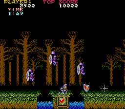 Ghosts 'N Goblins (ARC)   © Capcom 1985    8/8