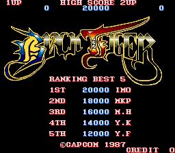 Black Tiger (ARC)  © Capcom 1987   1/5