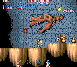 Black Tiger (ARC)  © Capcom 1987   2/5