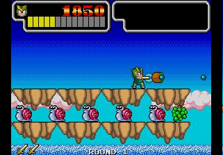 Wonder Boy III: Monster Lair (ARC)  © Sega 1989   5/11
