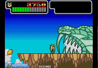 Wonder Boy III: Monster Lair (ARC)  © Sega 1989   6/11