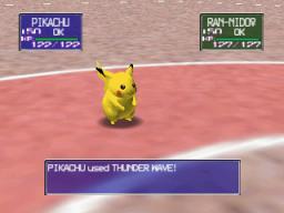 Pokémon Stadium (N64)  © Nintendo 1999   3/3