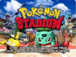 Pokémon Stadium (N64)  © Nintendo 1999   1/3