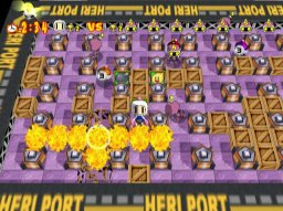 Bomberman Online (DC)  © Hudson 2001   2/6