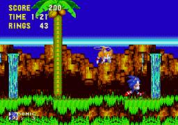 Sonic The Hedgehog 3 (SMD)  © Sega 1994   2/3