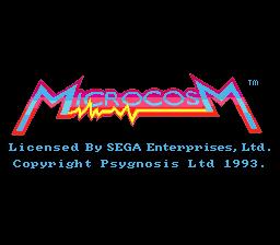 Microcosm (MCD)  © Psygnosis 1993   1/7