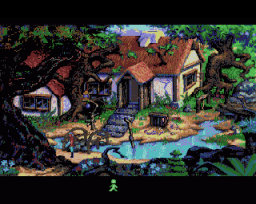 King's Quest V: Absence Makes The Heart Go Yonder (AMI)   ©  1991    1/3