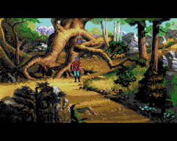 King's Quest V: Absence Makes The Heart Go Yonder (AMI)   ©  1991    2/3