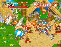 Astérix (1992) (ARC)  © Konami 1992   2/5