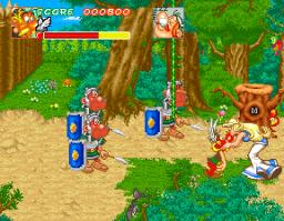 Astérix (1992) (ARC)  © Konami 1992   3/5