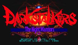 Darkstalkers: The Night Warriors (ARC)  © Capcom 1994   1/23