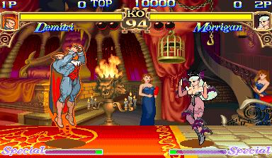 Darkstalkers: The Night Warriors (ARC)  © Capcom 1994   5/23